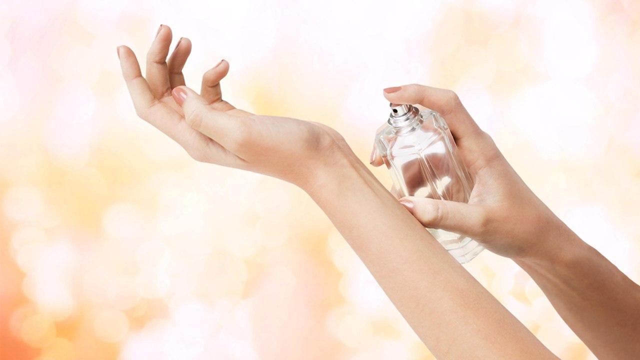 аромат на руке